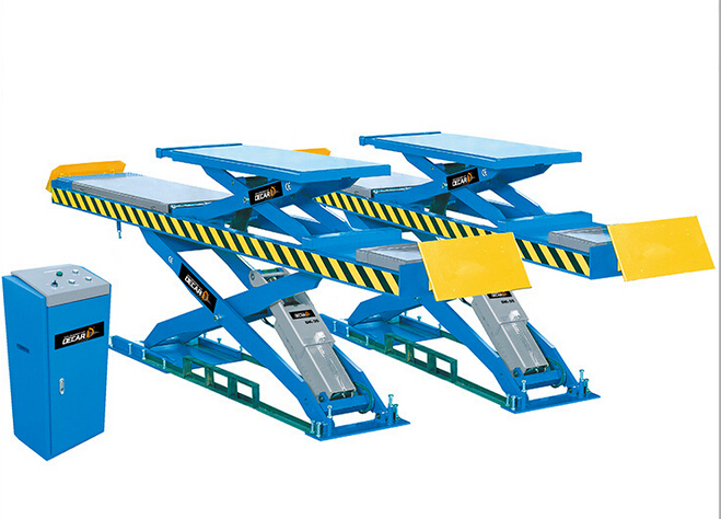 underground big scissor 2 layers lift ANS-35D for the 4 wheels alinger