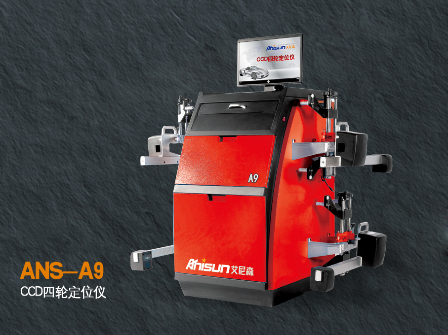 CCD four wheel aligner instrument  A9